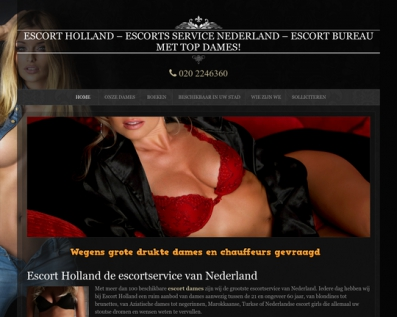 Escort Services Holland