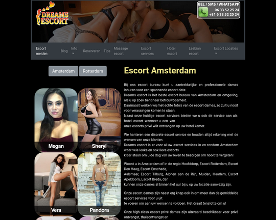 Dreams Escort Logo